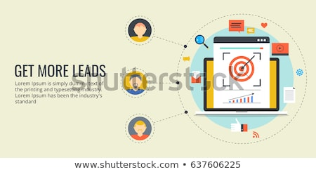 get more likes banner sign concept Stock photo © alexmillos