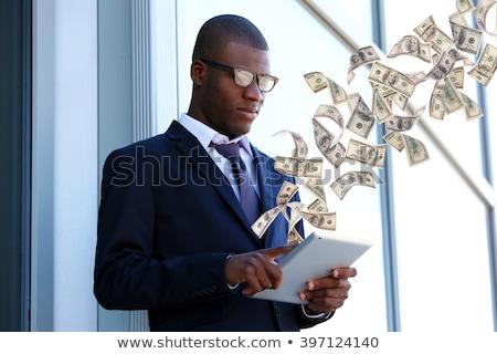 アフリカ ビジネスマン ドル記号 手 企業 ビジネスの方々 ストックフォト © studioworkstock