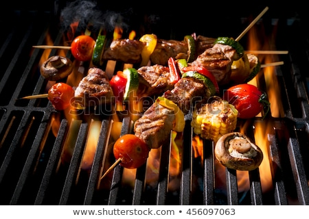 skewer barbecue, beef Stock photo © M-studio