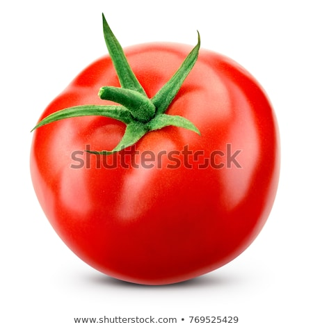 Red ripe tomato isolated on white background Stock photo © LightFieldStudios