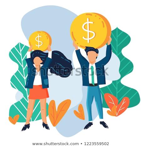 Genere salario gap due scacchi top Foto d'archivio © unikpix