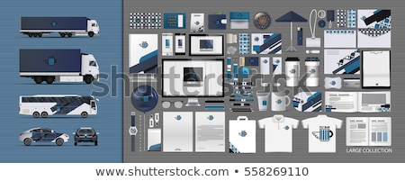 марка личности шаблон набор бизнеса брендинг Сток-фото © ikopylov