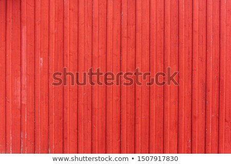 Red wooden wall Stock photo © boggy