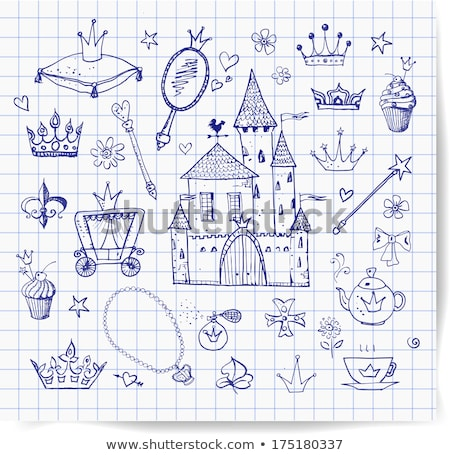 Cartoon Teen Fairy Magic Wand Stock photo © cthoman