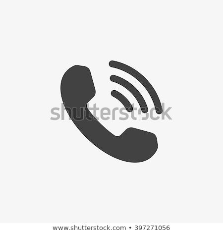 telefoon · bericht · grafisch · ontwerp · sjabloon · vector · geïsoleerd - stockfoto © rogistok