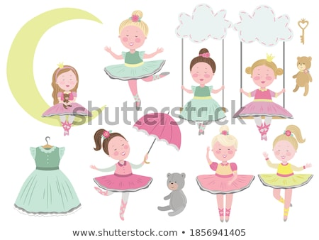 набор несут Dance положение иллюстрация вечеринка Сток-фото © bluering