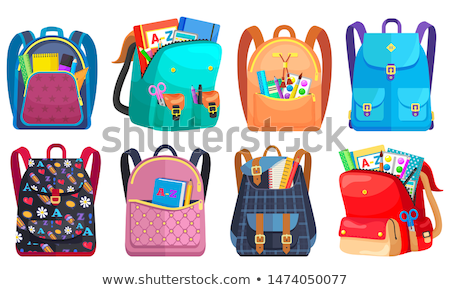 Back to Schools Bags Satchels Vector Illustration Stock photo © robuart
