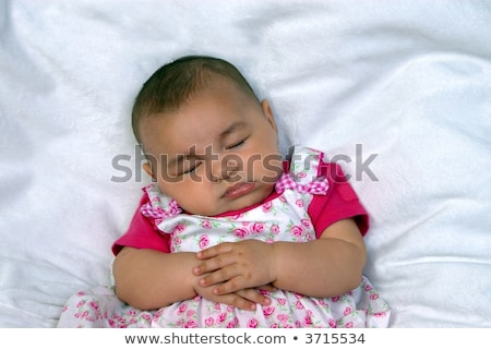 Nina ángel inconsciente ilustración corazón funny Foto stock © adrenalina