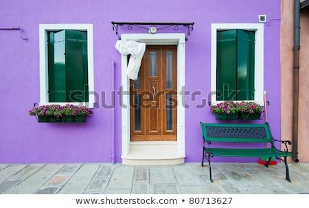 painted houses of burano stock photo © givaga