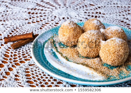 Cottage cheese dumpling  Stock photo © grafvision