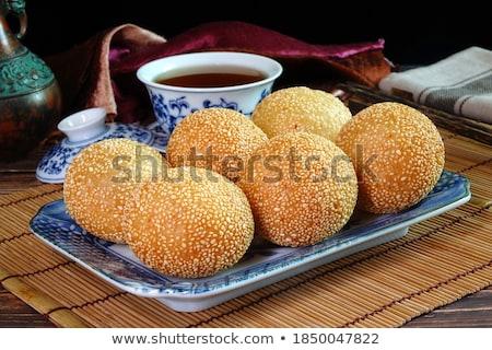 Сток-фото: Festive Snack Made Of Fried Egg