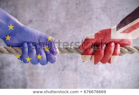 groot-brittannië · europese · unie · beslissing · stemming - stockfoto © lightsource