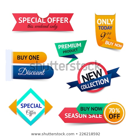Premium Quality of Products, Super Sale Discount Stock photo © robuart