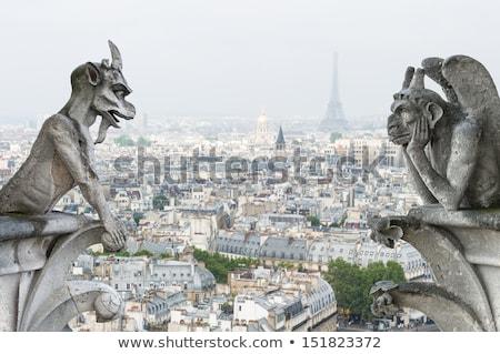 大聖堂 パリ フランス 夏 教会 ストックフォト © artjazz