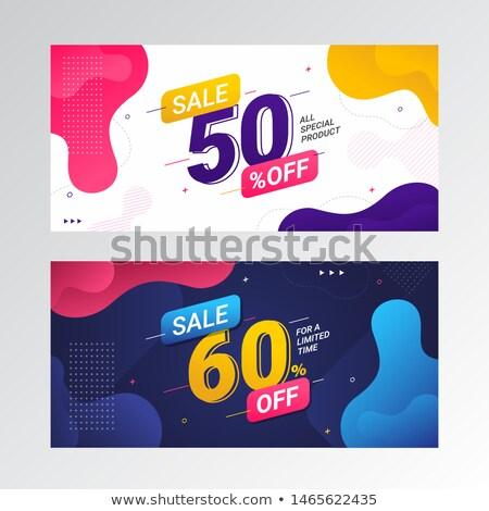 özel · fiyat · büyük · satış · renk · dikdörtgen · biçiminde - stok fotoğraf © robuart