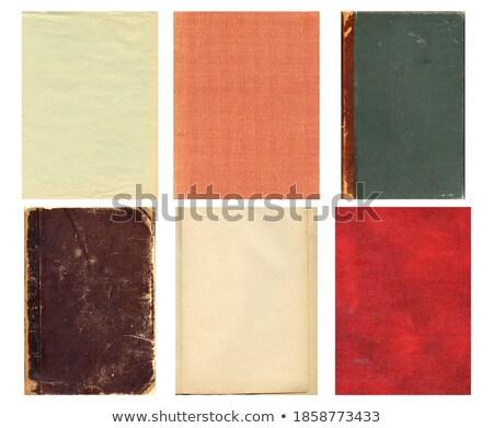 Pusty kolorowy album na wycinki kart zestaw film Zdjęcia stock © SArts