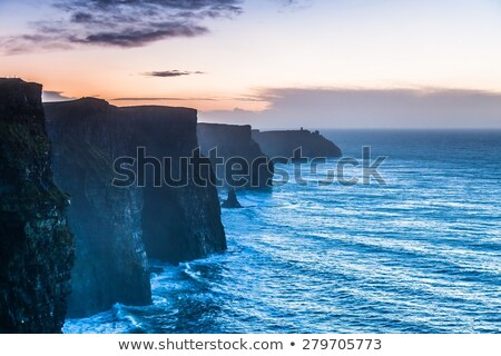 Cliffs of Moher, Burren, County Clare, Ireland Stock photo © phbcz