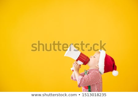 sevimli · çocuklar · kostüm · ayakta - stok fotoğraf © nyul