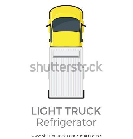 transport · koncepcje · kolorowy · zestaw · Pokaż · ciężarówka - zdjęcia stock © robuart