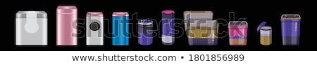 Konzervdoboz doboz 3d illusztráció izolált fehér étel Stock fotó © montego