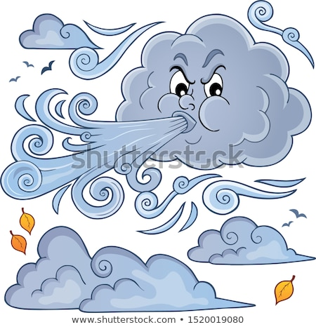 Clouds and wind theme image 1 Stock photo © clairev