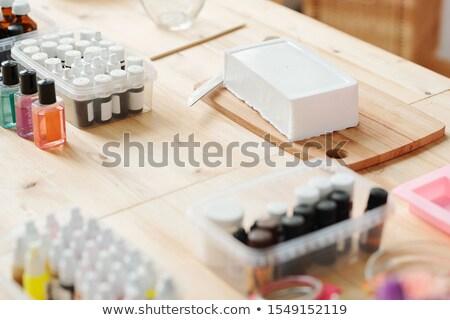 különböző · gyógyszer · üvegek · néhány · címkék · izolált - stock fotó © pressmaster