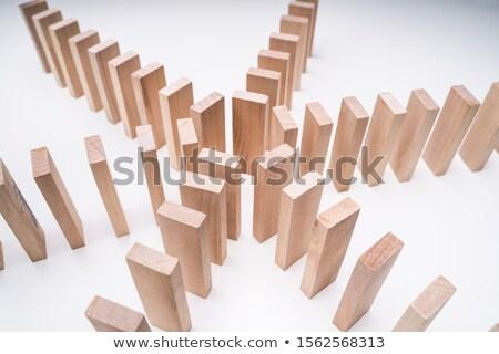 Holz Steine Rundschreiben Form weiß Stock foto © AndreyPopov