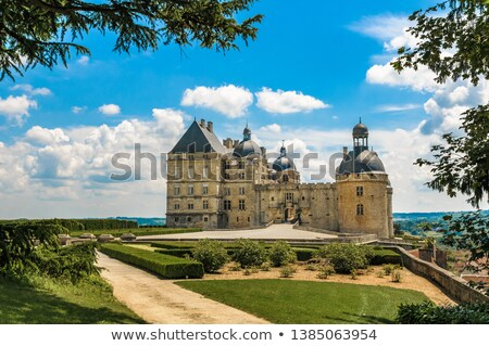 Chateau de Hautefort, France Stock photo © borisb17