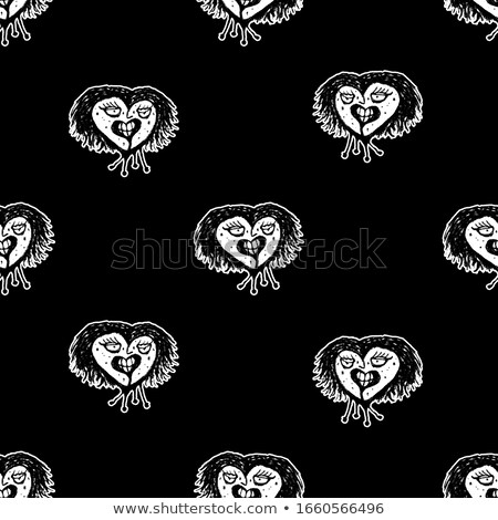 Drawings with Infection Motifs Stock photo © derocz