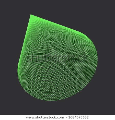 Vector Geometric Cone. Polygonal Shapes for Your Projects. Stock photo © tashatuvango