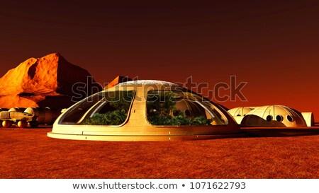 жизни бесплодный пейзаж планеты луна пустыне Сток-фото © Alvinge