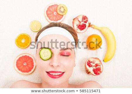 limone · pompelmo · arancione · calce · fette · isolato - foto d'archivio © tetkoren