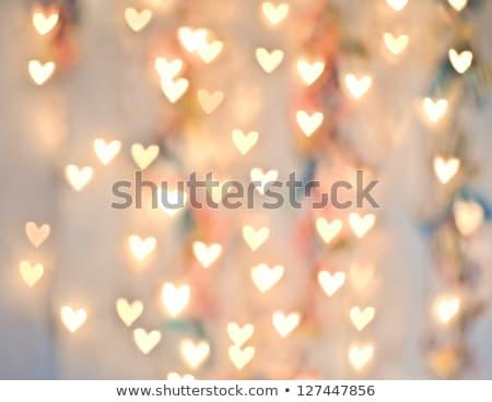 abstract · hart · lichten · paars · roze · groene - stockfoto © melpomene