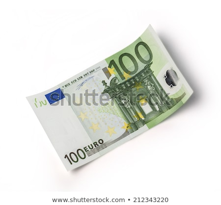 Queda 100 euro dinheiro notas Foto stock © simpson33