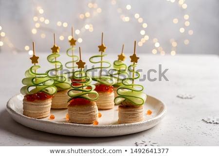 queso · de · cabra · brindis · dulce · vintage · moda · naturaleza - foto stock © stevemc