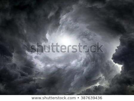 dramatic storm clouds stock photo © artjazz