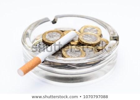 költség · dohányzás · cigaretta · dohány · termék · alakú - stock fotó © stocksnapper