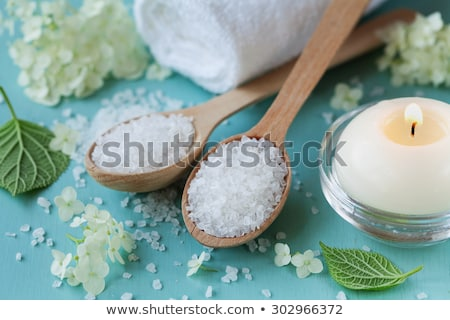 blue bath sea salt stock photo © jirkaejc