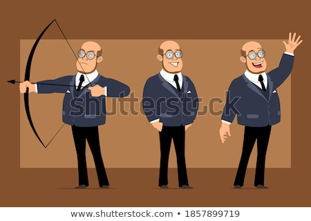 Man is ready to shoot from bow Stock photo © vetdoctor