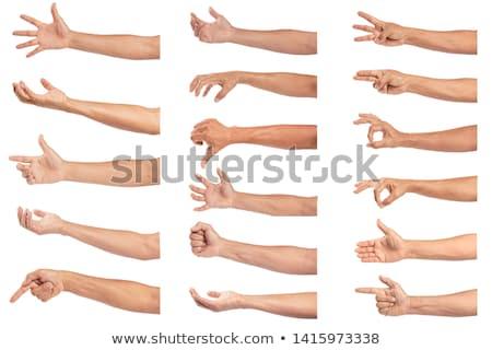 Braço gradiente mão esportes corpo poder Foto stock © fixer00