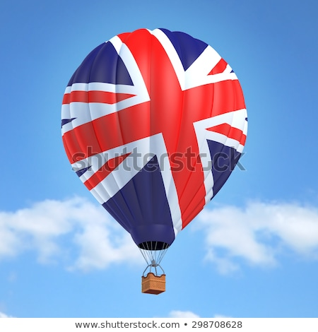 balloon of United Kingdom flag Stock photo © experimental