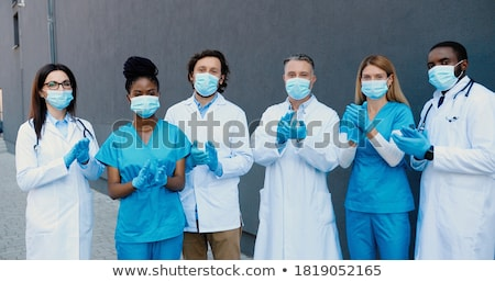 Female medic in a hospital stock photo © photography33