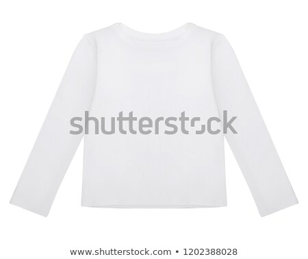 blue cotton baby outfit with long sleeves stock photo © gsermek