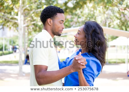 salsa couple looking at eachother stock photo © feedough