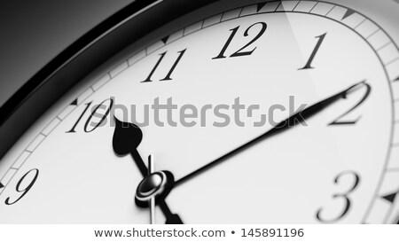Közelkép számlap óra háttér idő élet Stock fotó © inxti