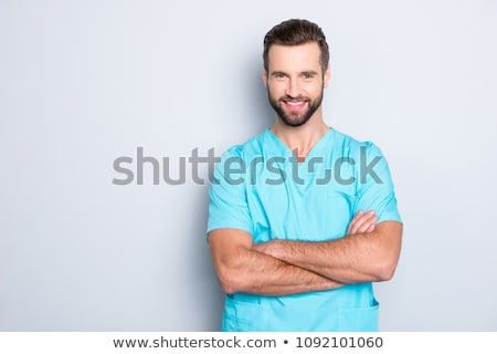 A practitioner and his nurse. Stock photo © photography33