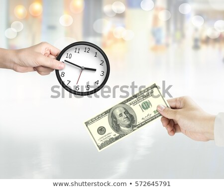 temps · up · horloge · isolé · blanche - photo stock © stockyimages