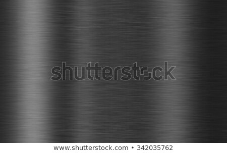 Stock photo: dark metal background illustration