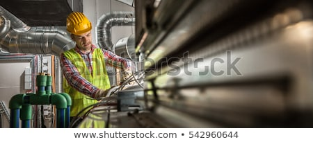 electrical, heating, engineer Stock photo © photography33