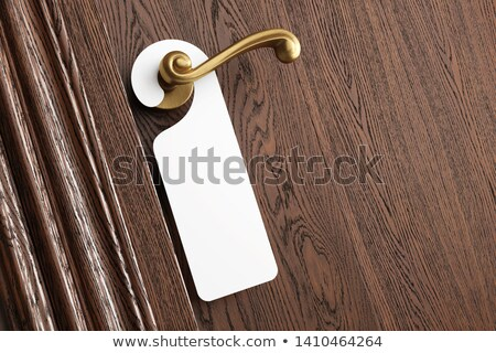 Luxury hotel room. Blank card for your text. Stock photo © photocreo